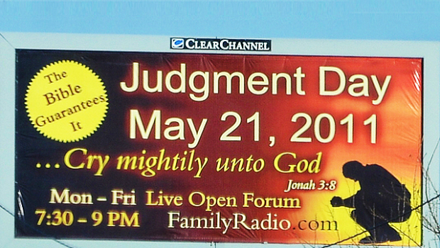 judgment day billboard. of Judgement-in-cheek,