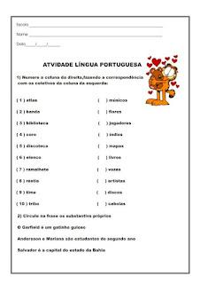 ATIVIDADES GRAM  TICA ORTOGRAFIA 3   4   5   ANOS L  NGUA PORTUGUESA P
