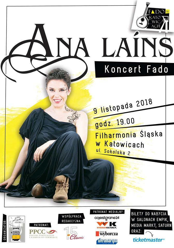 Fado w Katowicach – koncert Any Laíns