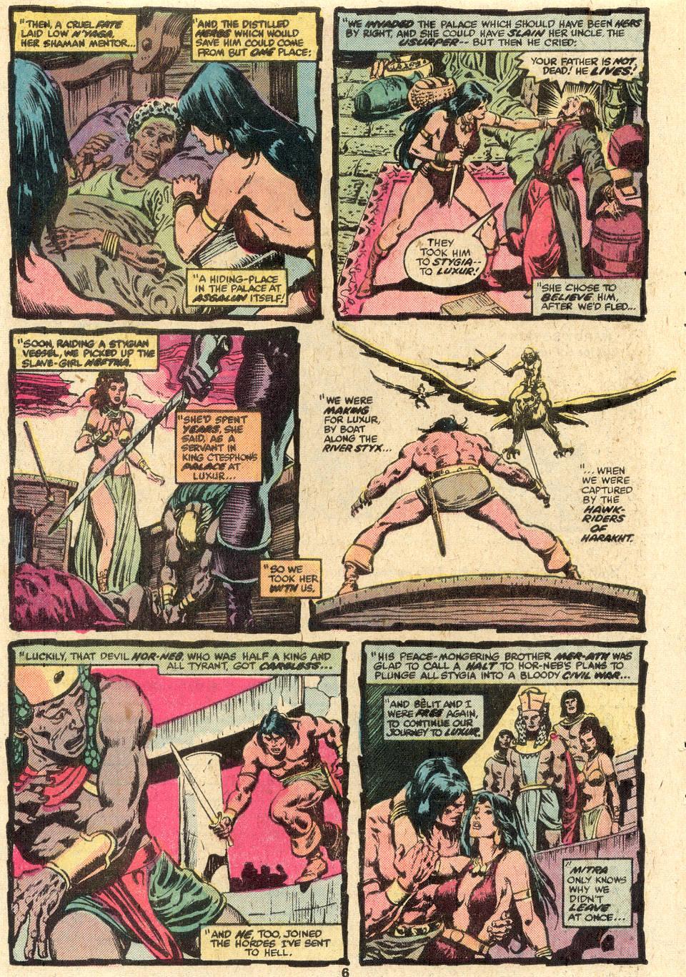 Conan the Barbarian (1970) Issue #85 #97 - English 5