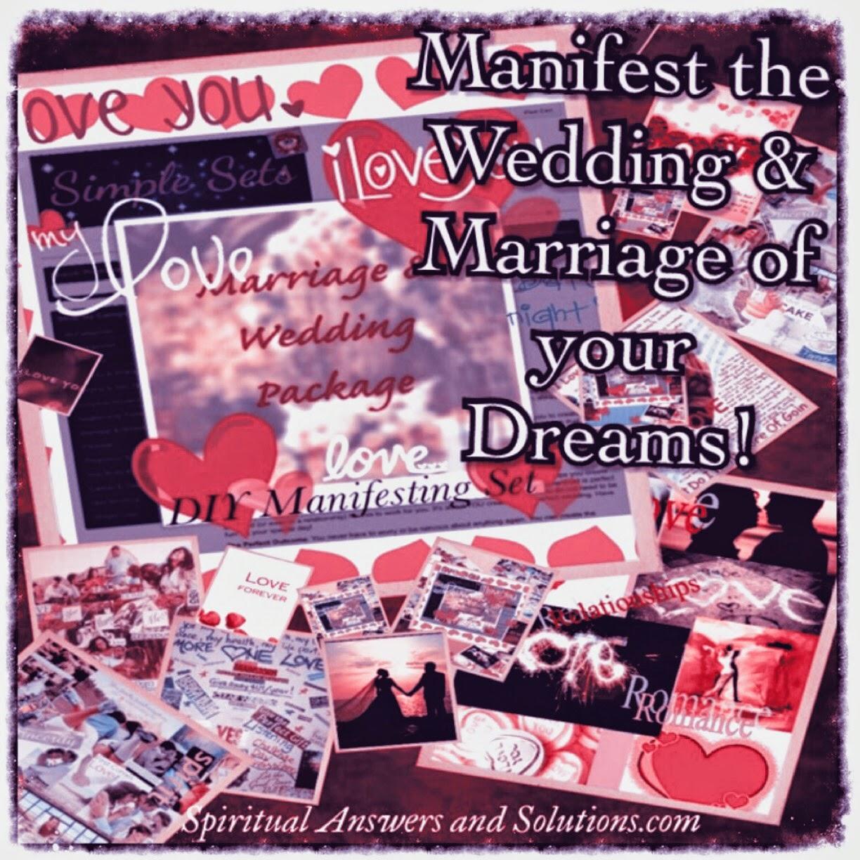 Manifesting, Relationships, Marriage, Wedding