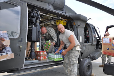 New York Guard aviators respond to Hurricane Irene