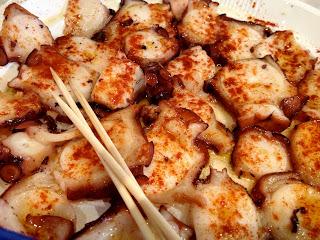 Pulpo de Galicia (octopus cooked Galacian style)