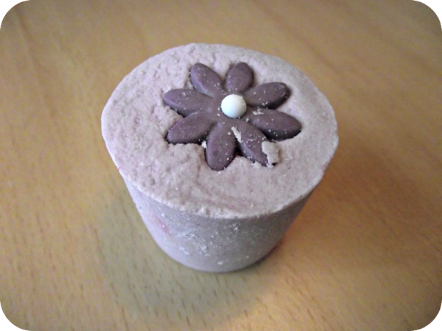 Purple Daisy Bath Mallow