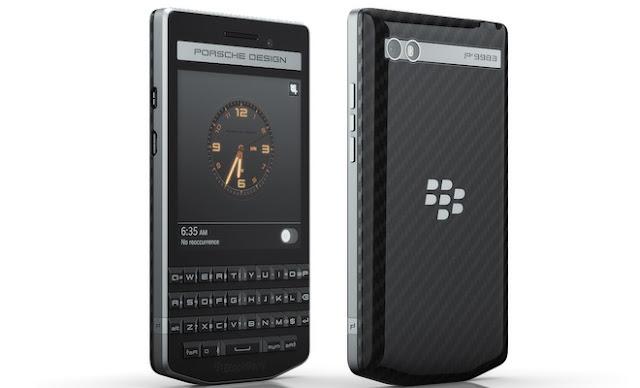 BlackBerry launches Porsche Design P'9983 Graphite