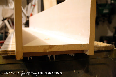 DIY Bathroom Light Fixture by Chic on a Shoestring Decorating