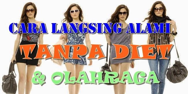 TIPS, DIET, LANGSING, ALAMI, TANPA OLAHRAGA