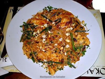 Tokai Restaurante: Pad Thai de Frango