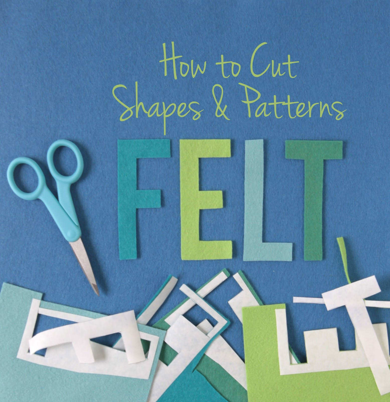 how to make things out of felt