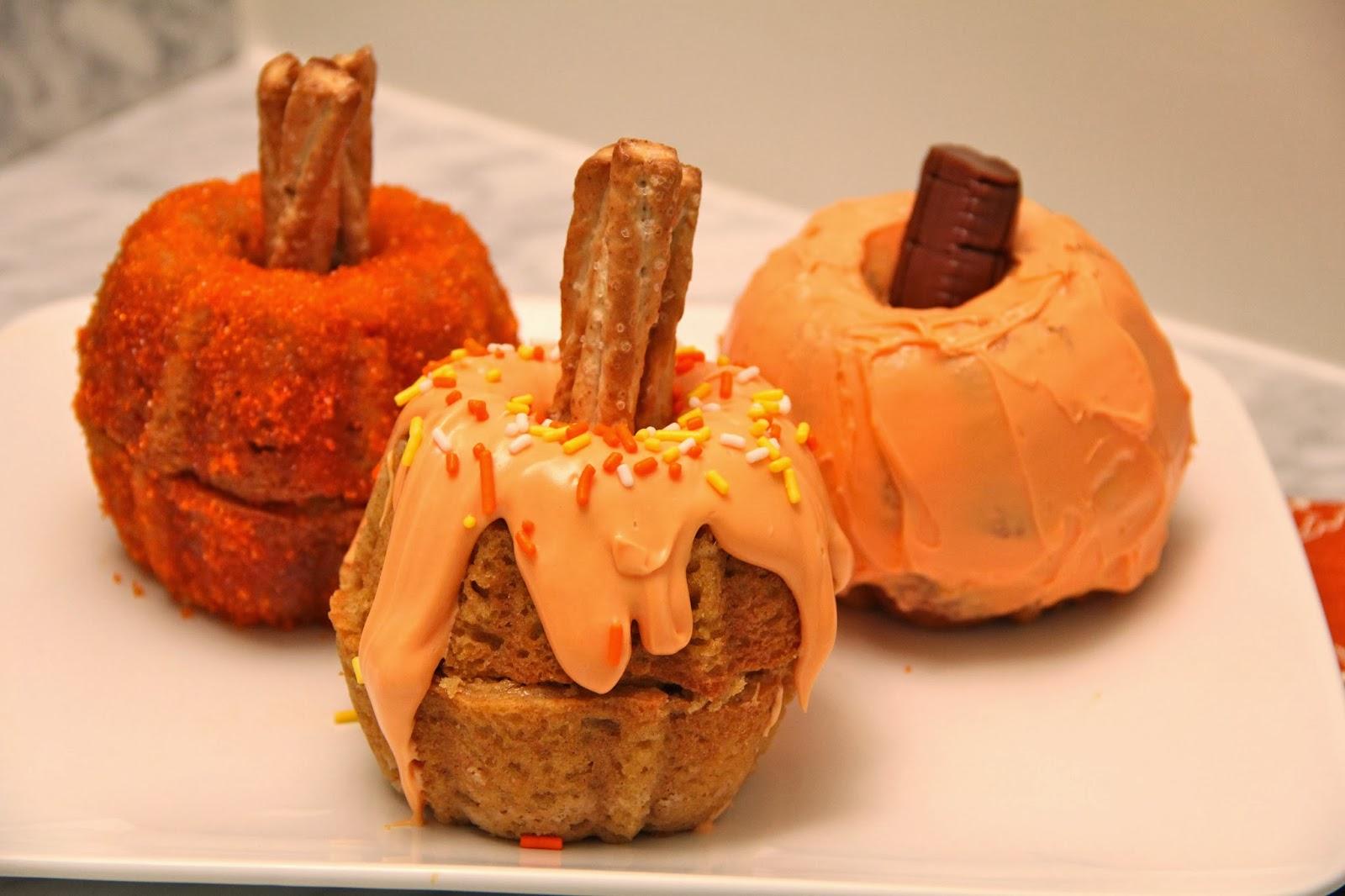 Mini Pumpkin Cakes Family Circle