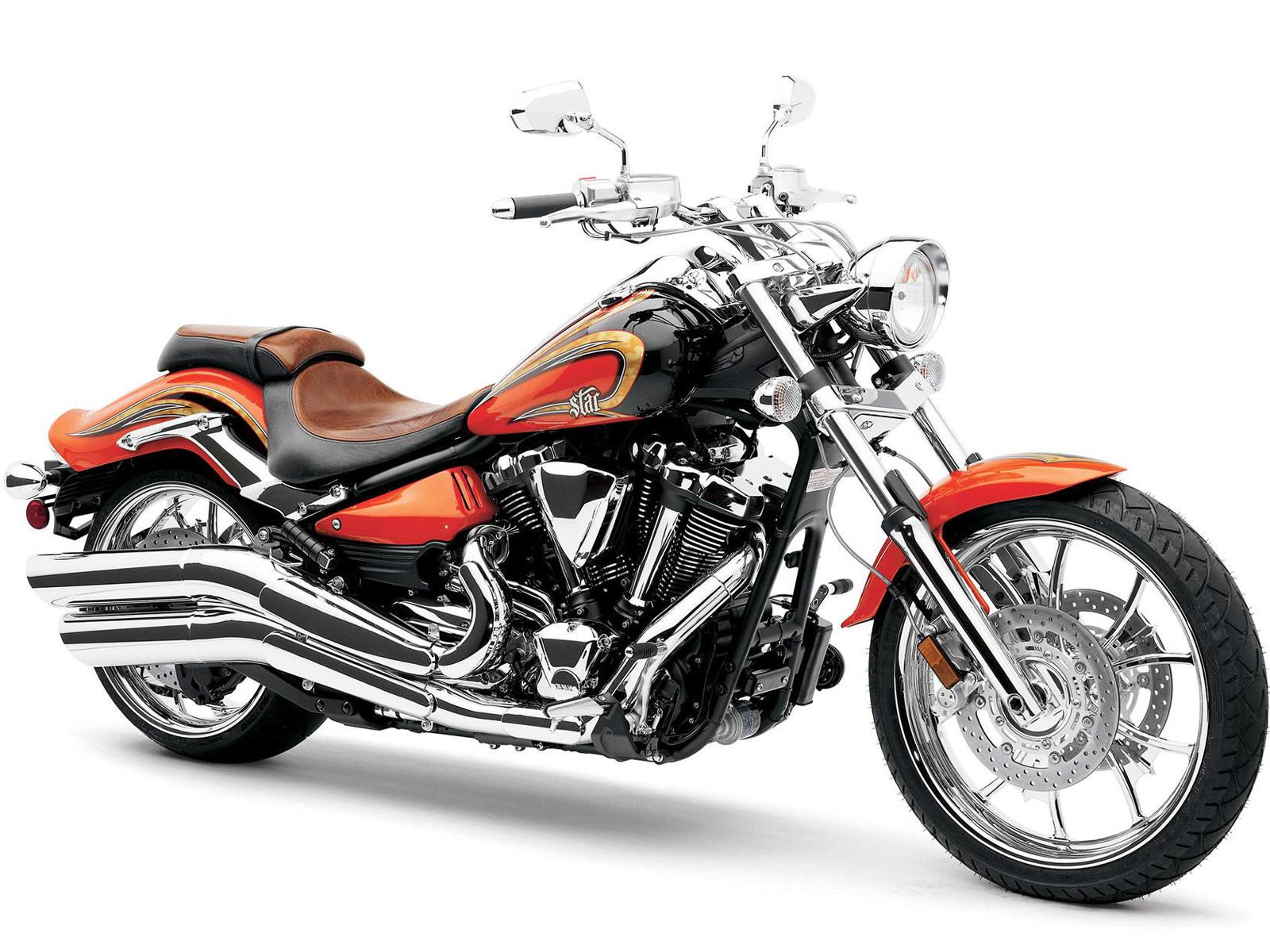 Yamaha Raider Custom Orange