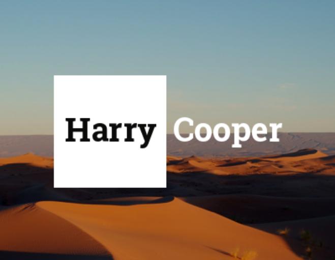 ОПТИКА HARRY COOPER
