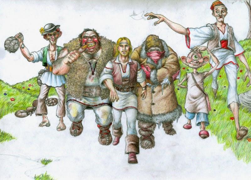 Harap-Alb și ceata lui