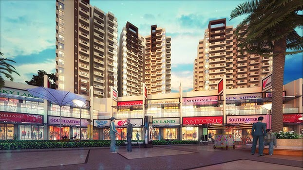 SkyPlaza, the most viable commercial project in Gr. Noida with few limited retail spaces.