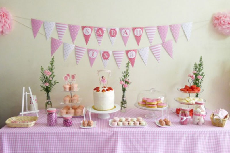 Top Ballerina Birthday Party Decoration Idea 800 x 532 · 67 kB · jpeg