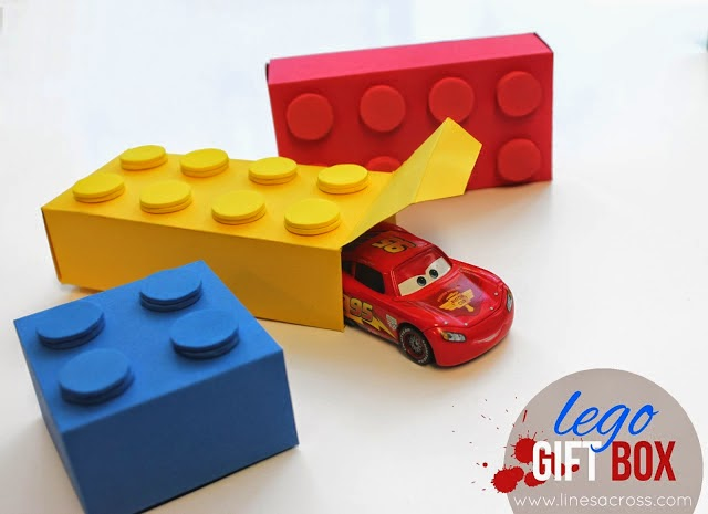 The LEGO Movie watching party ideas gift box