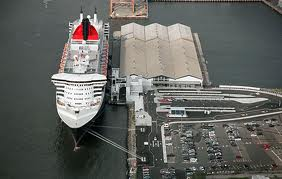 Brooklyn Cruise Terminal - Happier Times - Before Hurricane Sandy Flooding