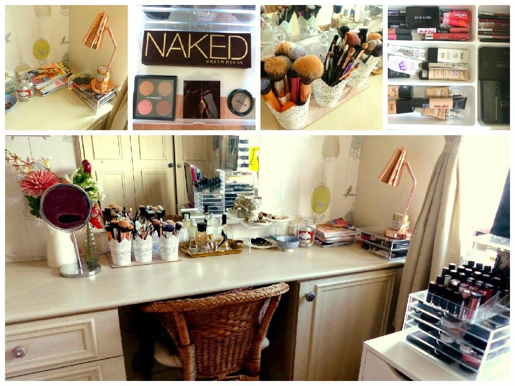 My Beauty Storage & Dressing Table Set-Up | Jasmine Talks Beauty