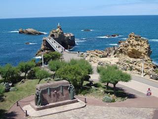 Rocher de la Vierge Biarritz País Vasco francés