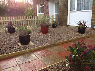 Low maintenance front garden - landscaping crawley
