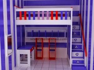 furniture tempat tidur anak