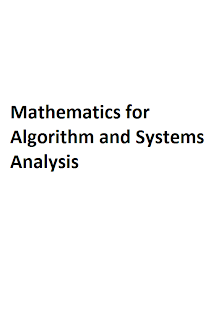 Mathematics for Algorithm and Systems Analysis Mediafire Ebook