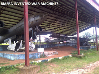 biafra war machines