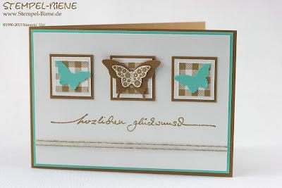 InColor2013-2015;  Glückwunschkarte;  Hochzeit;  Rollstempel Gingham;  Jade;  Kandiszucker;  scrapbooking; Stampin' write marker; Bigz Knallbonbon; Grußkarte; Scrapbooking; Scrapbook; Stempel-biene; stampin' up; Stampin' up recklinghausen; Workshops; Prägeform Blumenranke; www.stempel-biene.de; Karten basteln stampin' up, basteln stampin up, workshop stampin up, sammelbestellung, stempelparty, 720 euro party, Stempel-biene Recklinghausen, stempelbiene recklinghausen, Anleitung Bigz L Knallbonbon, Hochzeitskarte, Kommunionkarte;