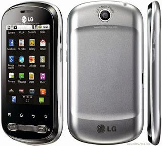 Cara Root LG Optimus P350