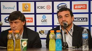 Conferencia de prensa de Los Pumas en La Plata