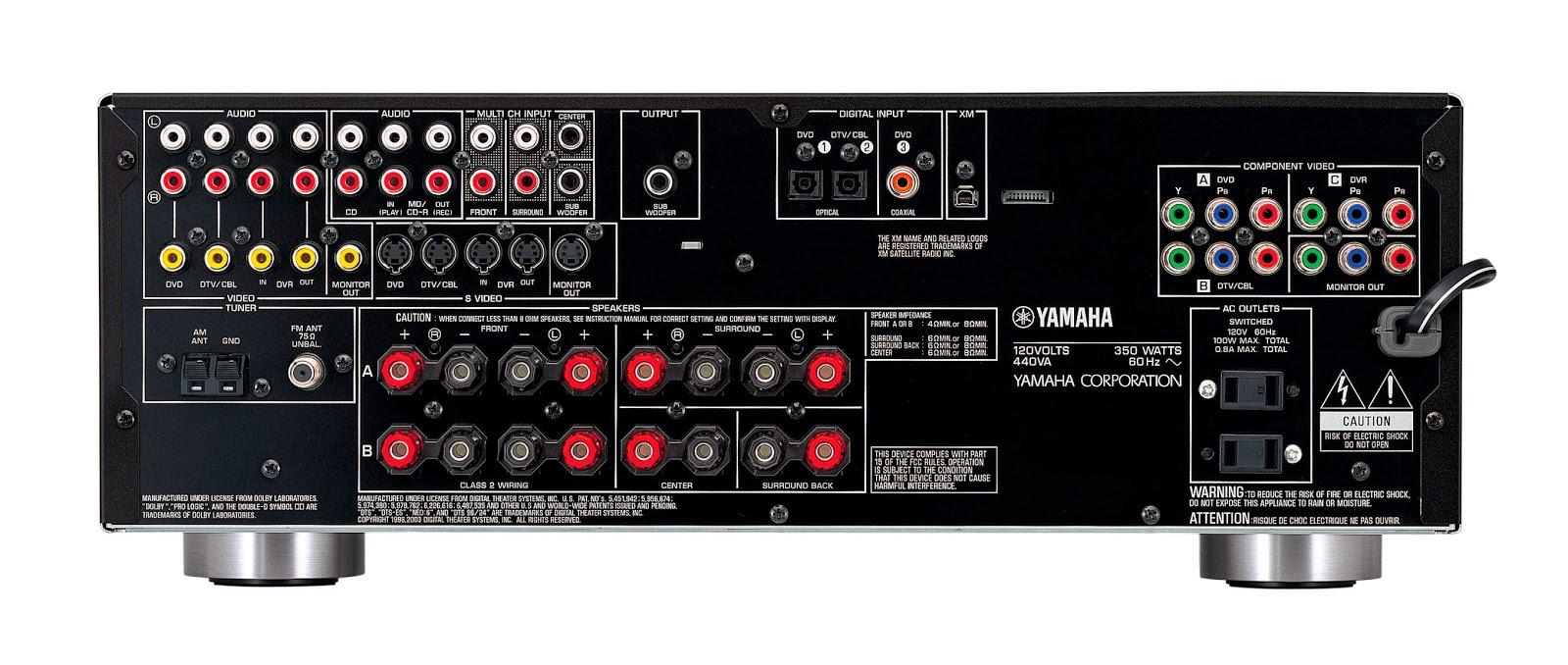 Инструкция yamaha rx v459