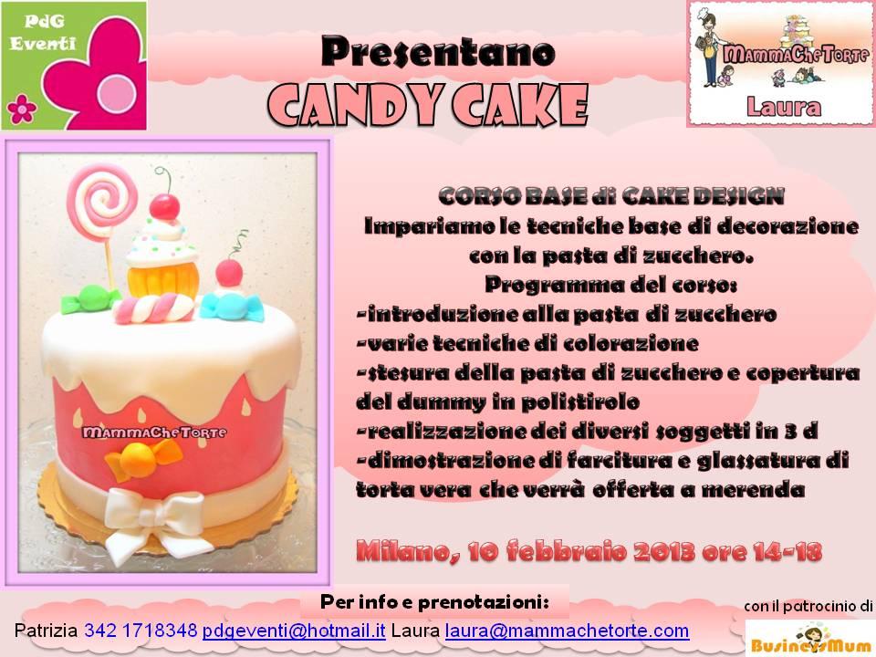 Mammachetorte nuovo corso di cake design for Corso di designer