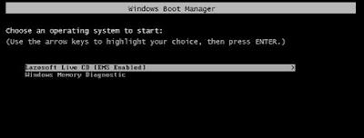 avvio boot