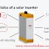 شرح الانفرتر المستعمل مع الالواح الشمسية وانواعه