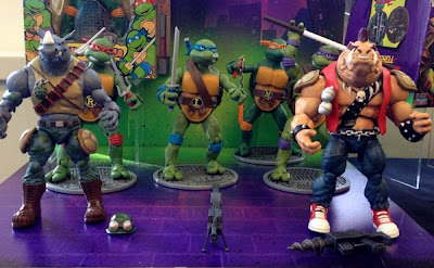 Playmates Teenage Mutant Ninja Turtles Classics Bebop and Rocksteady figures