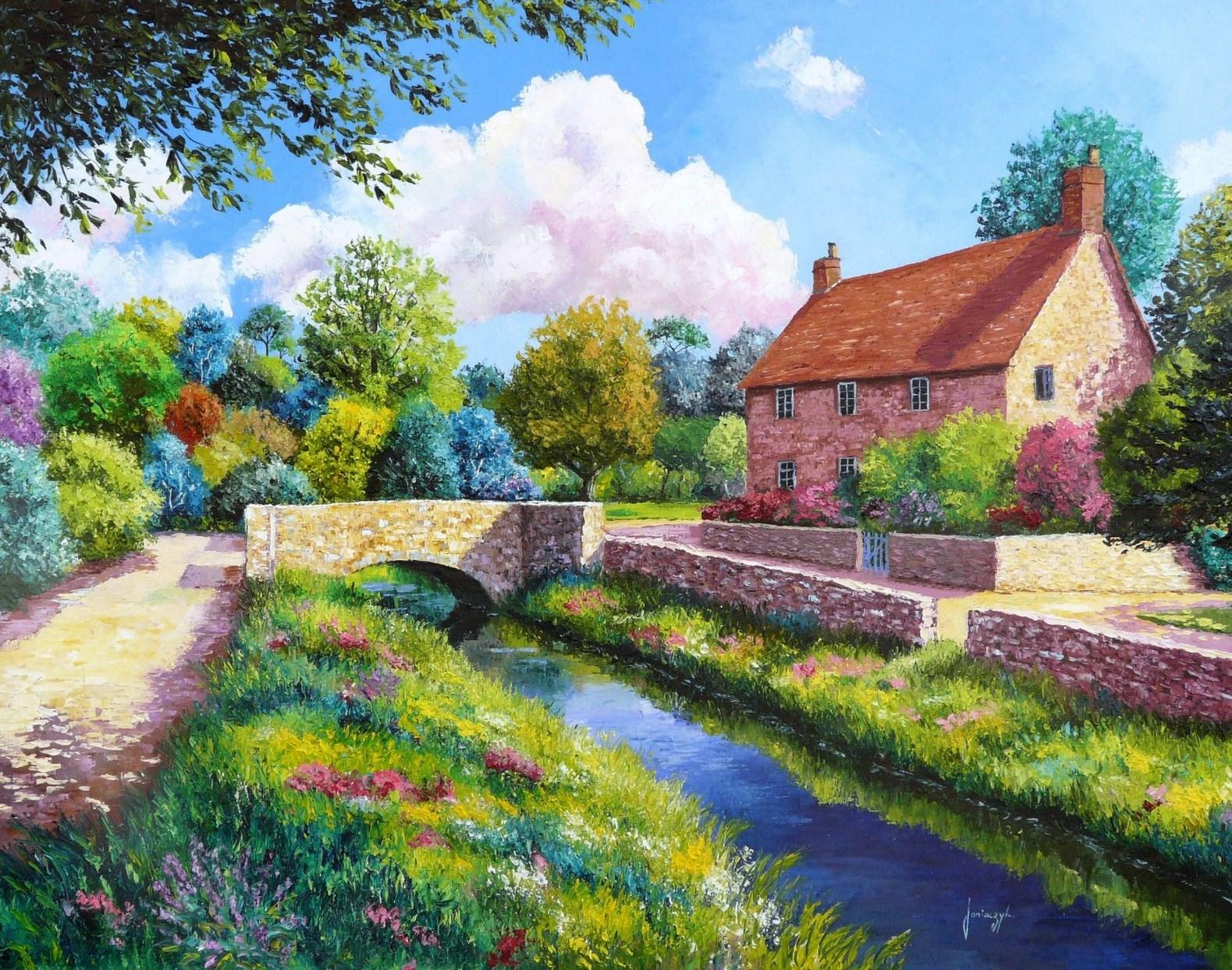Imagenes de paisajes con casas imagui - Paisajes de casas ...