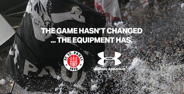 Under Armour será o novo patrocinador do FC St. Pauli