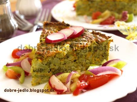 Jemný brokolicový nákyp - recepty