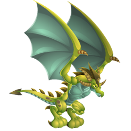 imagen del dragon pterodactilo de dragon city