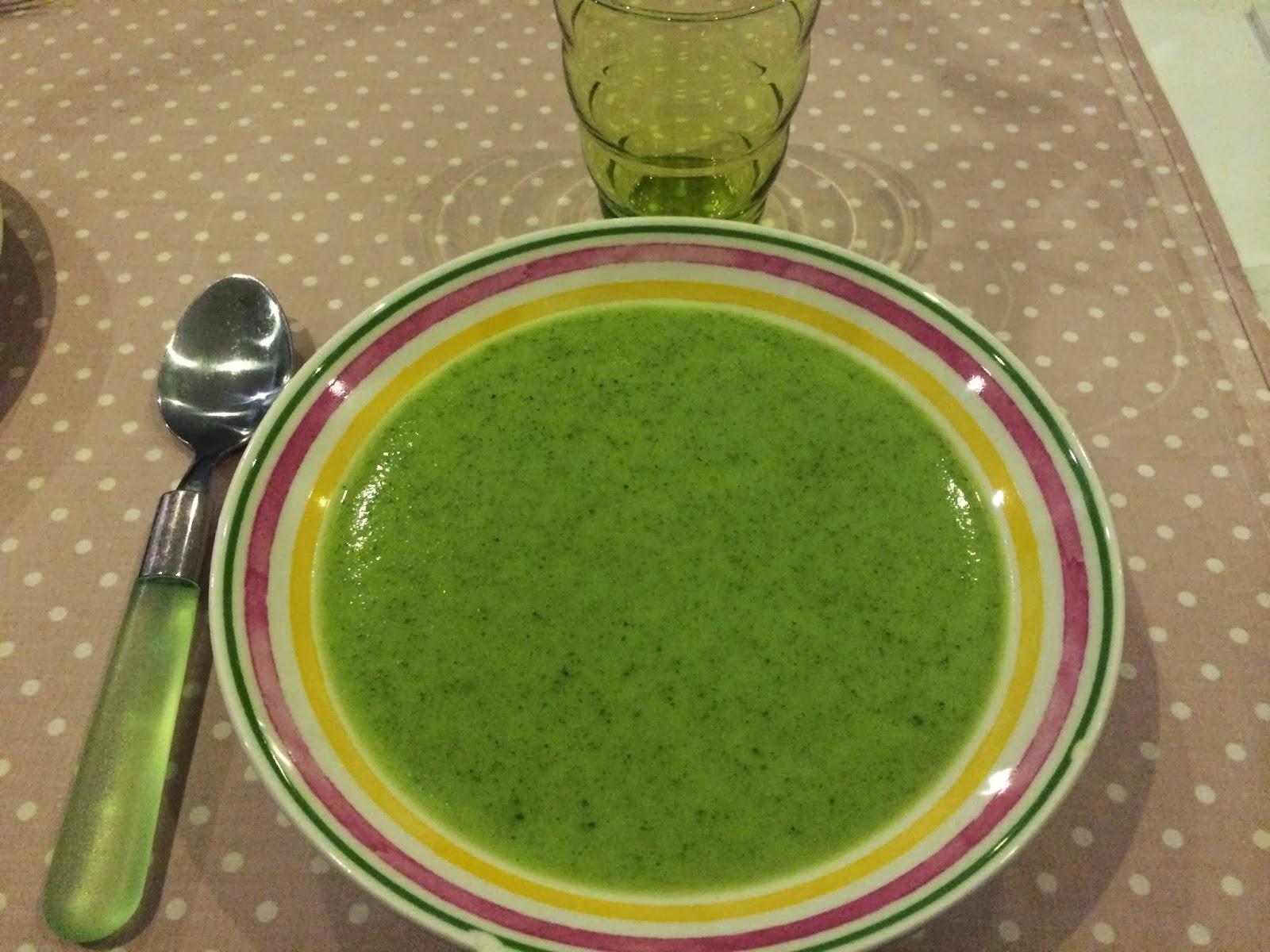 Les recettes de jenny lou soupe de courgette et kiri au thermomix - Soupe de brocolis thermomix ...