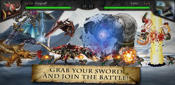 Download Epic War Saga v1.11 Android Apk Free