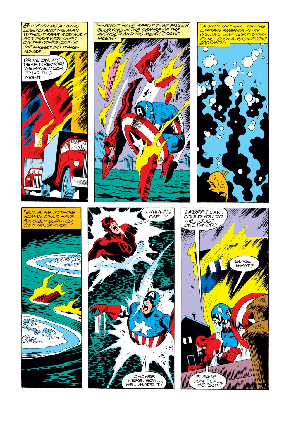 Captain America (1968) Issue #235 #150 - English 9