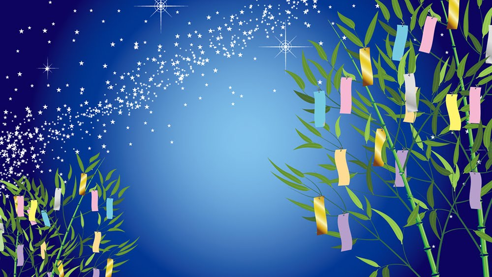 7月の七夕イベントは星に願いを...