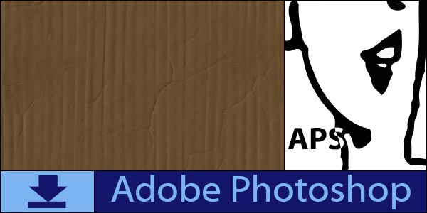 Cardboard free seamless tiling patterns for Adobe Photoshop