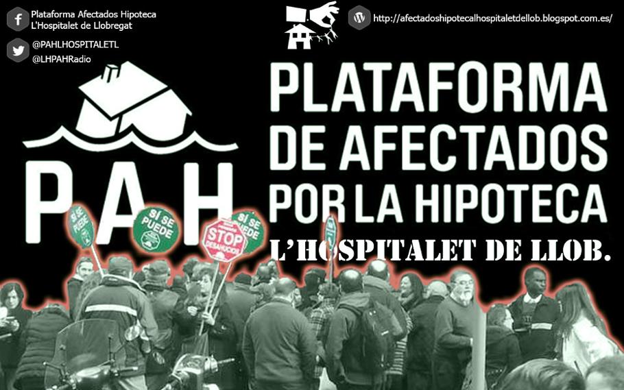 Plataforma de afectados por la hipoteca de L'Hospitalet de Llobregat
