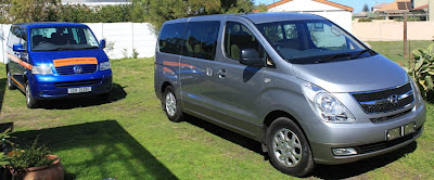 Percy Tours luxury minibuses