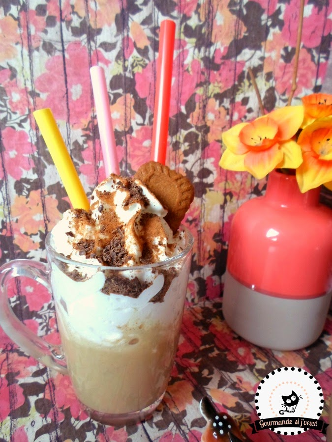 Speculoos-Viennois-Milkshake