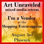 I'm a vendor at ART UNRAVELED 2013