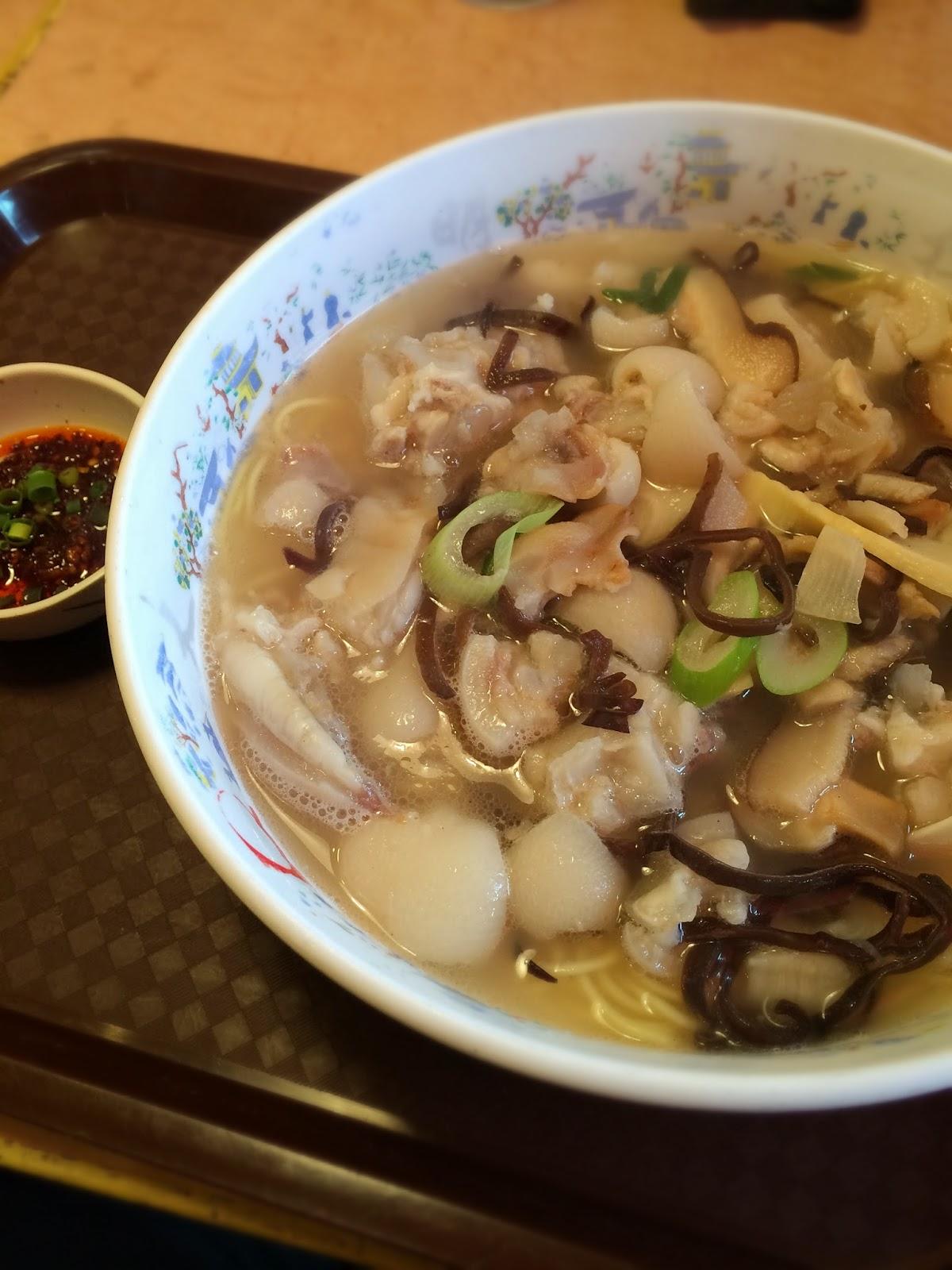 大明担担麺 豚足麺