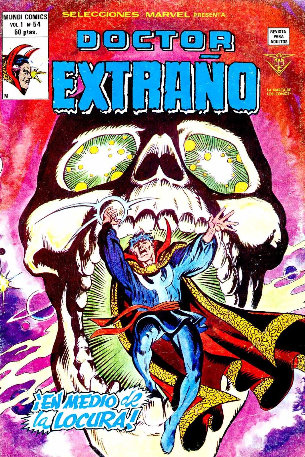 Portada Selecciones Marvel Volumen 1 Nº 54 Ediciones Vértice